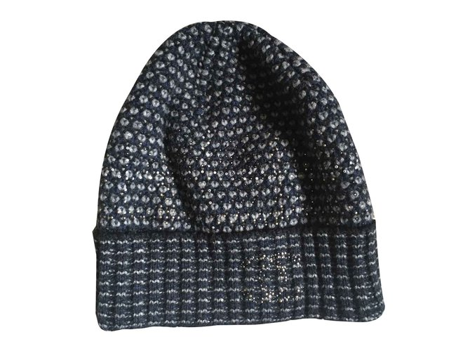 88e9d7ea07e Chanel Hats Hats Wool Blue