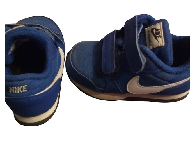 Baskets enfant Nike Nike MD runner 2 Toile Bleu foncé ref.107463