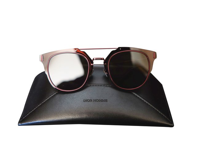 73042768d397 Christian Dior Dior composit 1.0 Sunglasses Metal Silvery ref.107904 ...
