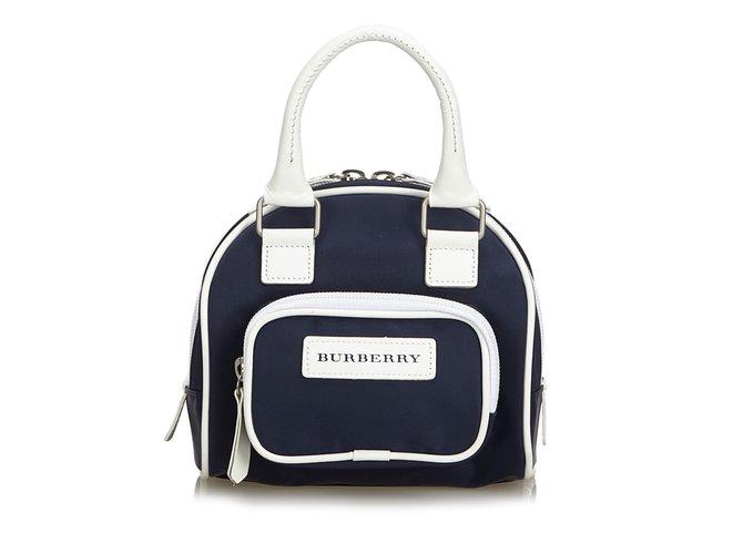 1085641b5824 Burberry Nylon Handbag Handbags Leather