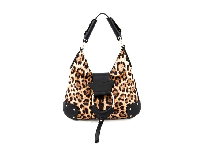 4d2a5f0c5f51 Dolce   Gabbana Leather bag Handbags Leather Leopard print ref.108506