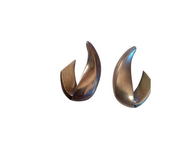 Boucles d'oreilles Saint Laurent Boucles d'oreilles Métal Argenté ref.108573