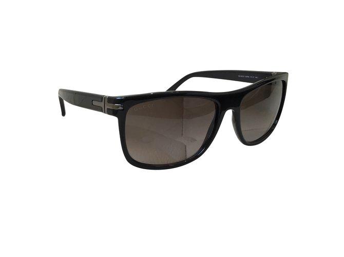 0933992b09 Gucci Sunglasses Sunglasses Plastic Black ref.108584 - Joli Closet