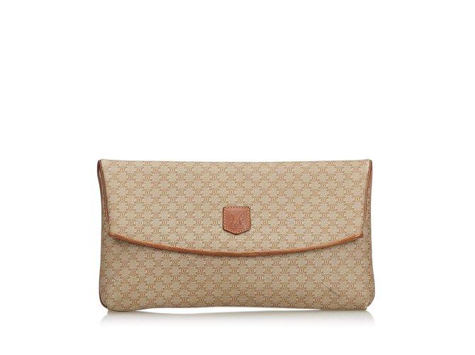 Céline Macadam Clutch Bag Clutch bags Leather a84c49b2972be