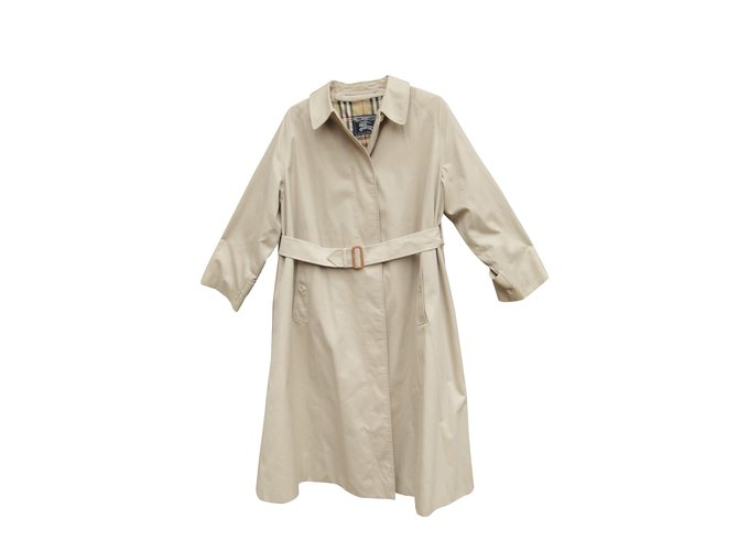 Burberry Trench coats Trench coats Cotton,Polyester Beige ref.108804