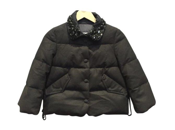 Moncler Moncler Jacket Jackets Wool Black ref.109002