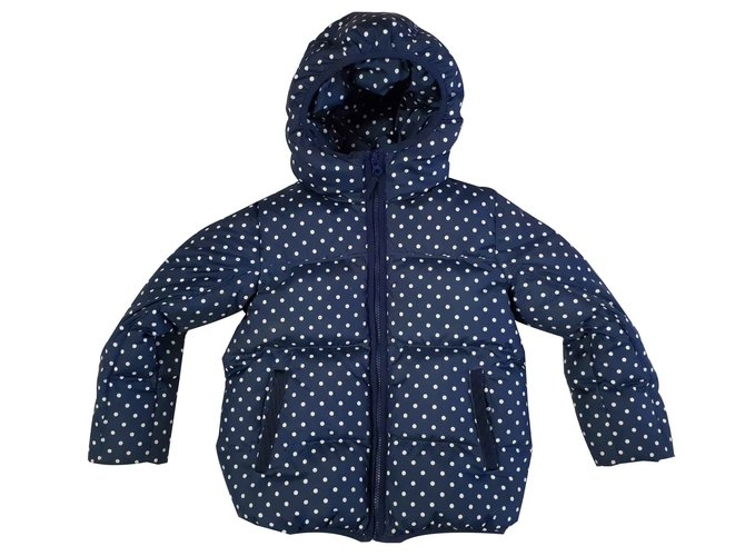 J.Crew Girl Coats outerwear Girl Coats outerwear Polyester Navy blue ref.109037