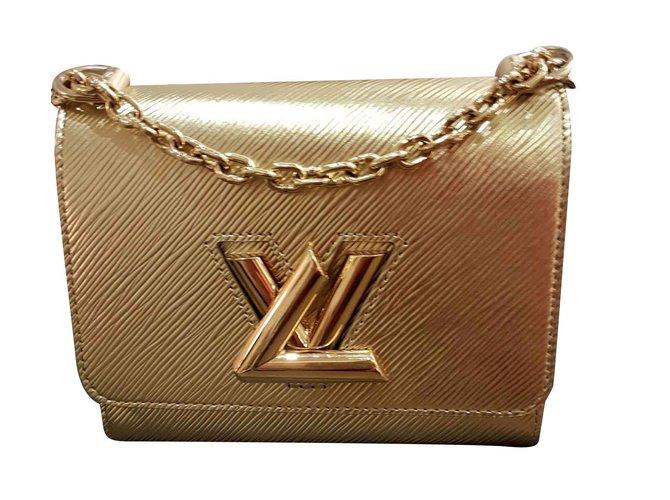 80d2d6a63a Louis Vuitton Twist louis vuitton Handbags Leather Golden ref.109085 ...