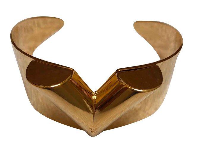 Bracelets Louis Vuitton Bracelets Métal Doré ref.109089