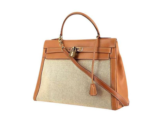 Hermès Bag Hermes Model Kelly Canvas