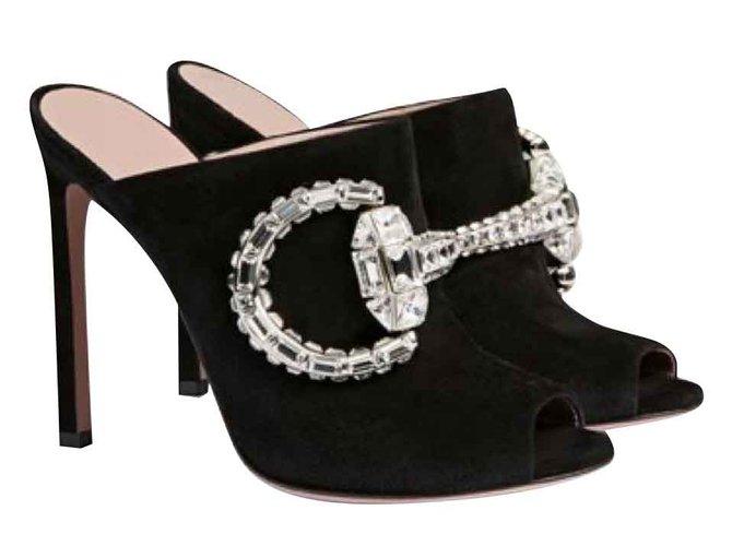 4f5de0d980c Gucci gucci sabot new Sandals Other Black ref.109163 - Joli Closet