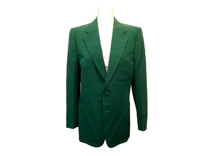 70a1e287b Gucci Jacket Jackets Wool Green ref.109282 - Joli Closet
