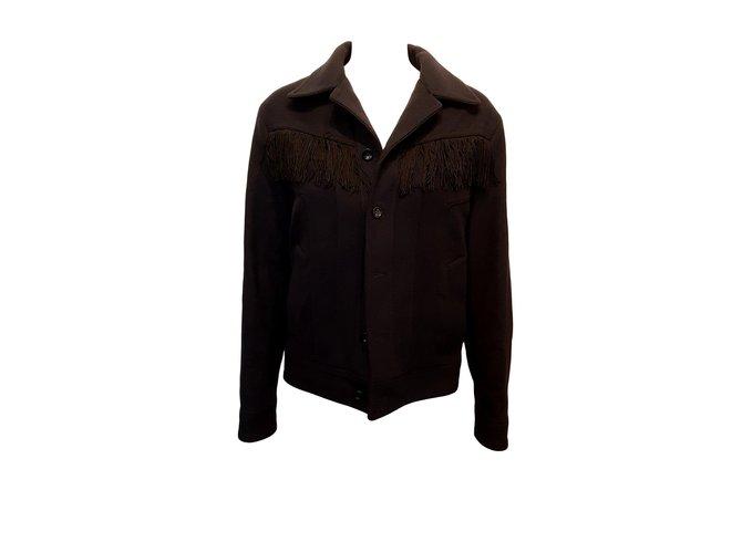 Vestes Gucci Blouson Autre Bleu Marine ref.109283