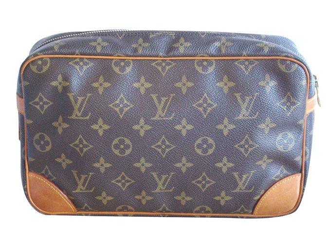 e07125a2a06f Louis Vuitton Compiègne kit or pouch Clutch bags Leather