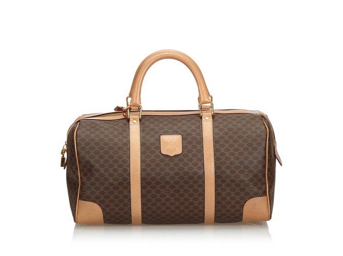 3e72057467 Céline Macadam Travel Bag Travel bag Leather
