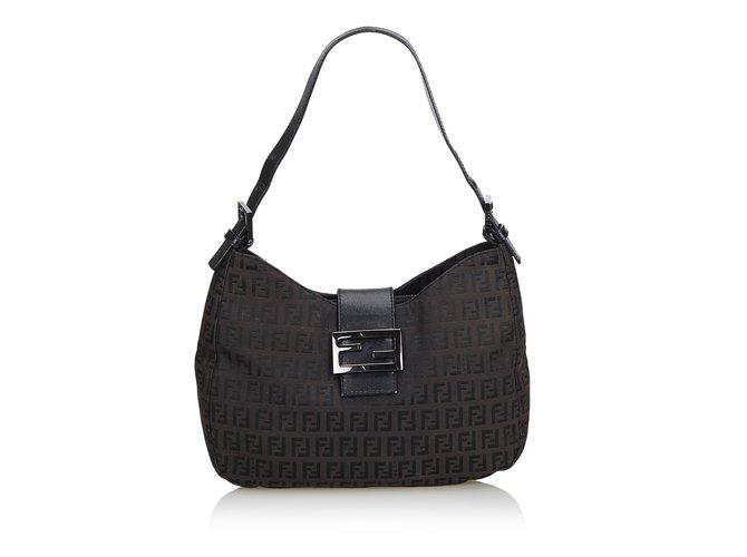 bd4ea4e46866 Fendi Zucca Jacquard Mamma Forever Shoulder Bag Handbags Other
