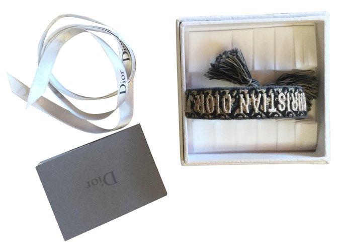 Bracelets Dior Dior Coton Bleu ref.110741