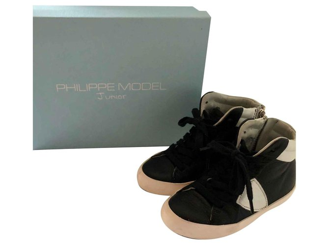 Philippe Model Philippe Model sneakers Sneakers Leather Black ref.111846