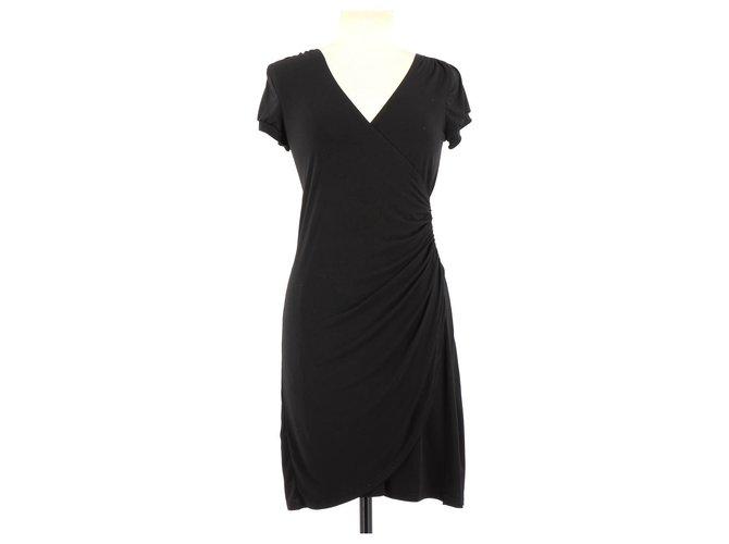 Robes Sinequanone Robe Polyester Noir Ref 112400 Joli Closet