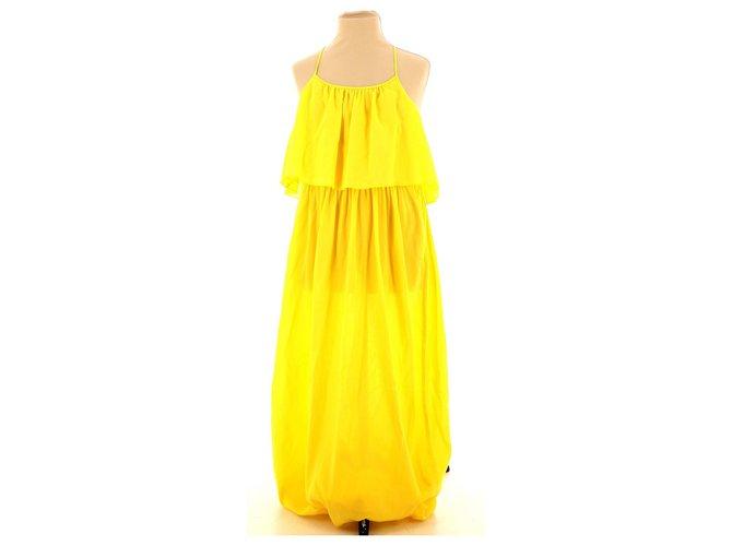 Chloé Dress Dresses Cotton Yellow ref.112610