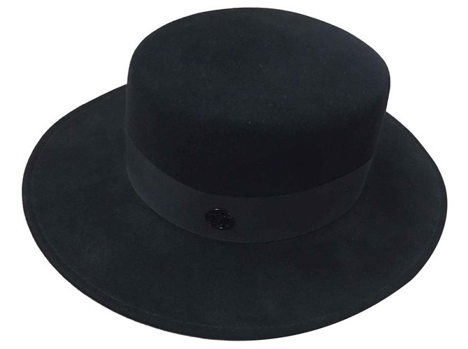 Maison Michel Kiki Hats Other Black ref.112915