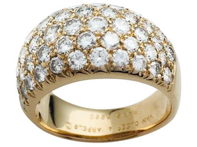 boutique de sortie qualité incroyable magasiner pour le meilleur Bague Van Cleef & Arpels en or jaune et diamants.