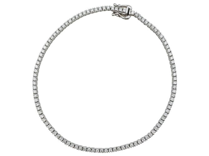 Bracelets Bracelet ligne en or blanc, diamants. Or blanc,Autre Autre ref.113071
