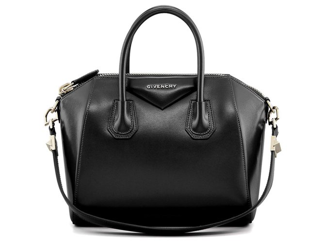 Givenchy GIVENCHY ANTIGONA PETITE SAC NOIR NEUF Handbags Leather Black  ref.113138 7e929b9345d05