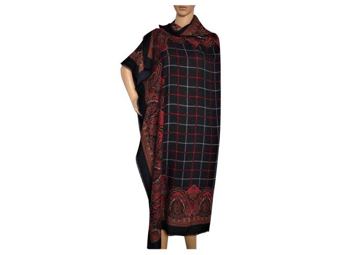 Burberry Silk scarves Silk scarves Wool Multiple colors ref.113327