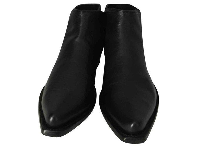 Stiefel 40 Mexicana Neu Fr Black Niedrige qGMVSzUp
