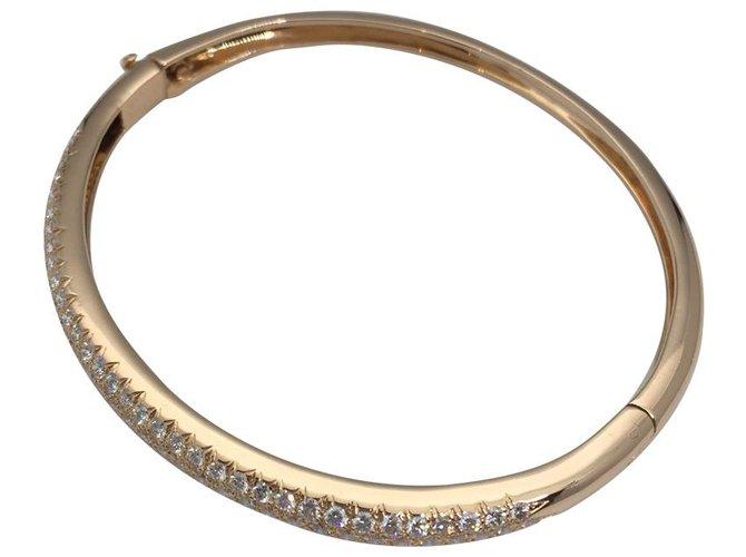 """Bracelets Van Cleef & Arpels Bracelet Van Cleef & Arpels, collection """"Eve"""", or jaune et diamants. Autre,Or jaune Autre ref.114861"""