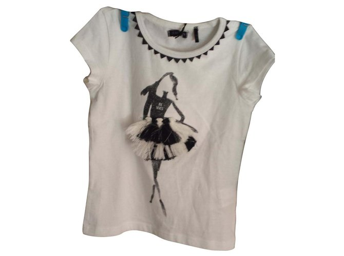 Ikks IKKS t-shirts Outfits Cotton Eggshell ref.114920