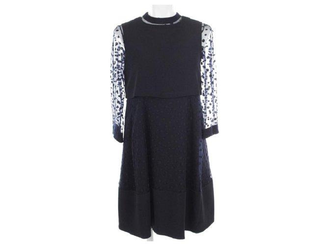 Chloé Dress Dresses Cotton Navy blue ref.115212