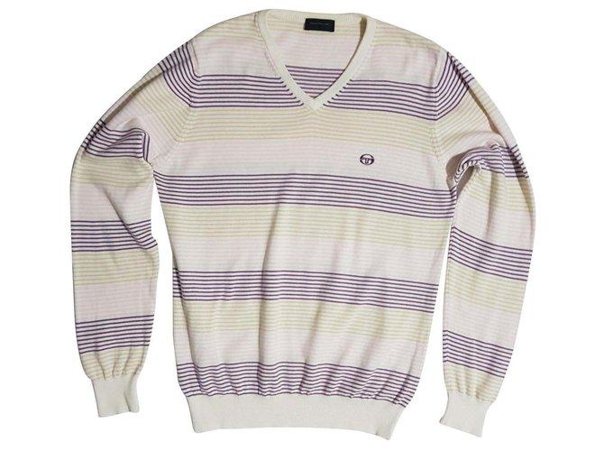 Autre Marque Sweaters Sweaters Cotton White,Multiple colors ref.115217