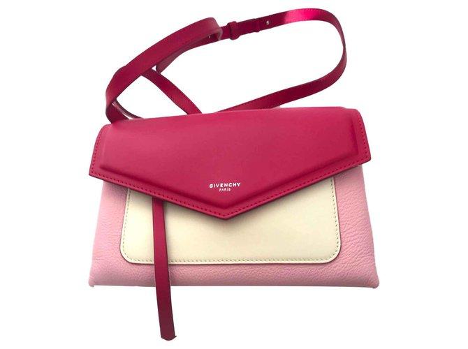 9b0560845bb Givenchy Handbags Handbags Leather Pink ref.115389 - Joli Closet