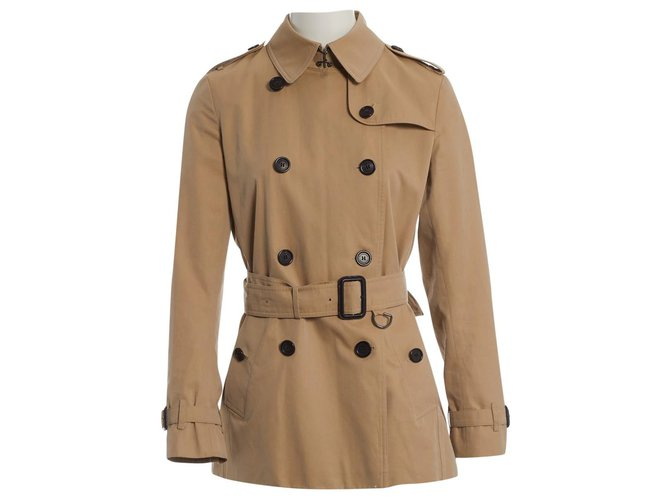 Burberry Trench Trench coats Cotton Beige ref.116042