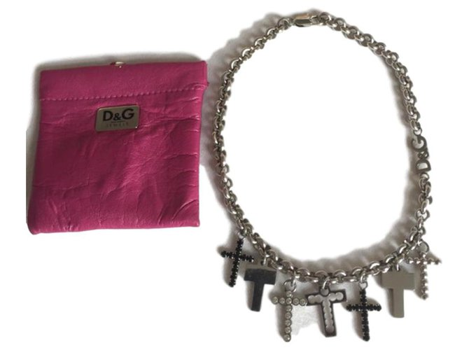 Dolce & Gabbana Necklaces Necklaces Steel Silvery ref.116061