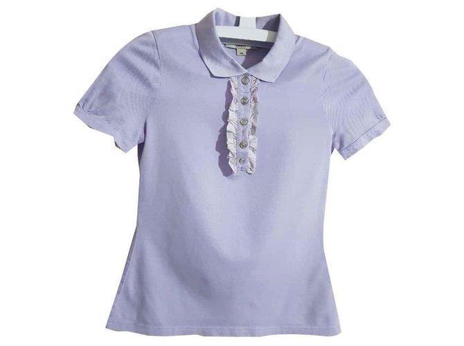 Burberry Tops Tops Cotton Purple ref.116521
