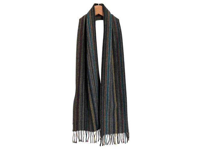 Paul Smith Paul Smith scarf Men Scarves Cashmere,Wool Multiple colors ref.117307