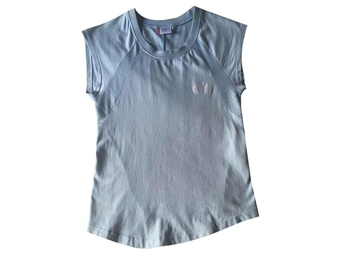 Levi's UNISEX Tops Tees Cotton Light blue ref.117346