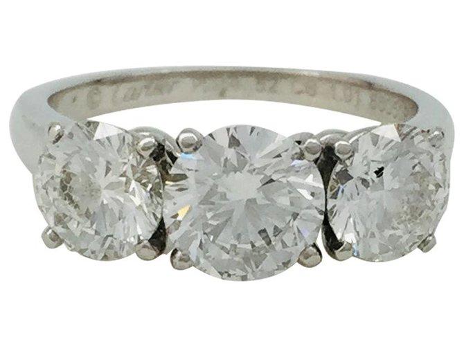 Cartier Bague PlatineTrois En Bague Cartier Diamants QdCthsr