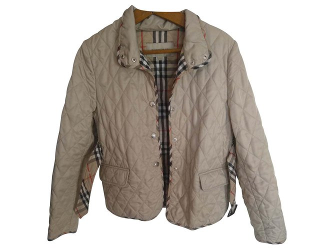 Burberry Jackets Jackets Polyester Beige ref.118132