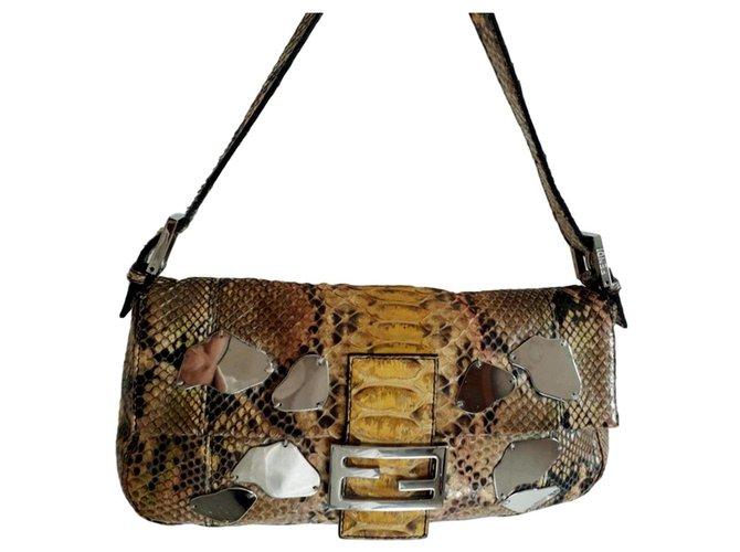 a587c4306512 Fendi limited edition baguette Handbags Exotic leather Multiple colors  ref.86460