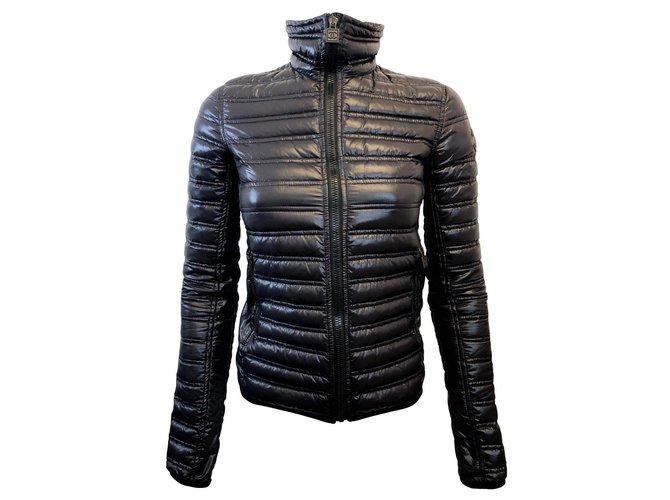 Vestes Chanel Doudoune Polyester Noir ref.86709