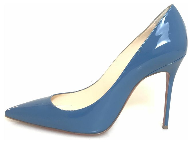code promo fca83 51615 Christian Louboutin Bleu So Kate 100