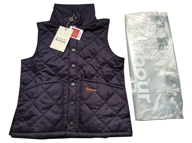 Barbour Barbour blue quilted vest Sweaters Other Navy blue ref.119296