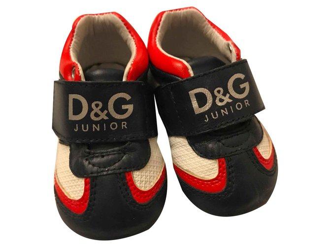 Premiers pas D&G Premiers pas Cuir Multicolore ref.120332