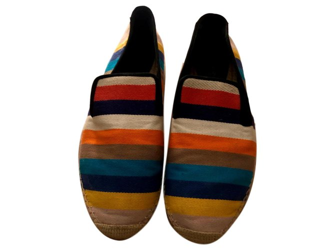 Céline Espadrilles Espadrilles Cloth Multiple colors ref.121221