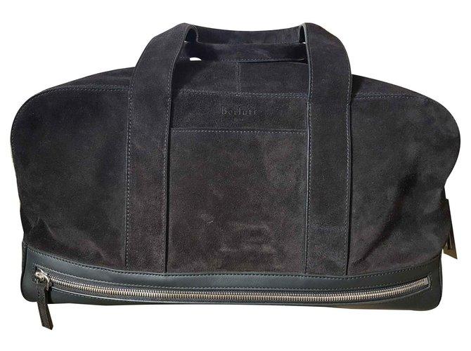Berluti calflnero Bags Briefcases Leather Black ref.121648