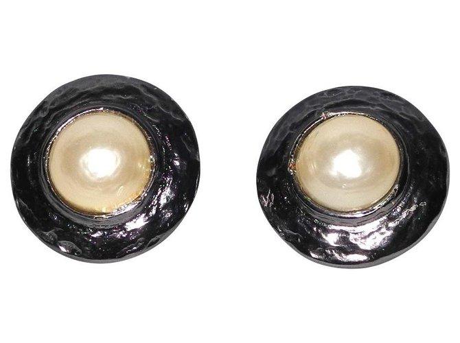 Yves Saint Laurent Earrings Earrings Metal Silvery ref.121901